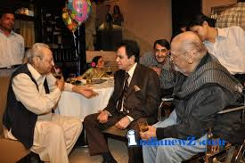 Pran With another Greats [dilip kumar and shammi kapoor