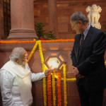 The Prime Minister, launching the National Programme for LED Street Lighting and LED Home Lighting, in New Delhi on January 05, 2015.