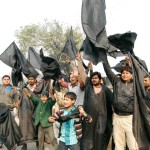 Black Flags Shown To Azam Khan In Meerut