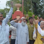 Demonstration Against Dr Sarojini Agrawal