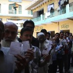 Minority Casting Their Vote Without Any Fear In Meerut City