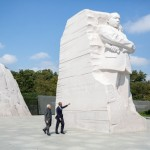 Obama & modi at martin luthar king jr Memorial