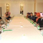 A Sikh delegation meeting the Prime Minister, Shri Narendra Modi, in New York