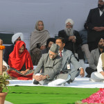 """""""Sarva Dharma Prarthana"""", organised by the Giani Zail Singh Foundation, on the occasion of the 19th death anniversary of the former President of India, Late Giani Zail Singh, at Ekta Sthal, in Delhi on December 25, 2013."""
