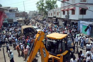 Demolition Of Encroachment In Meerut