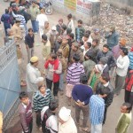 People Resenting Over Murder Of Employee In Cantonment