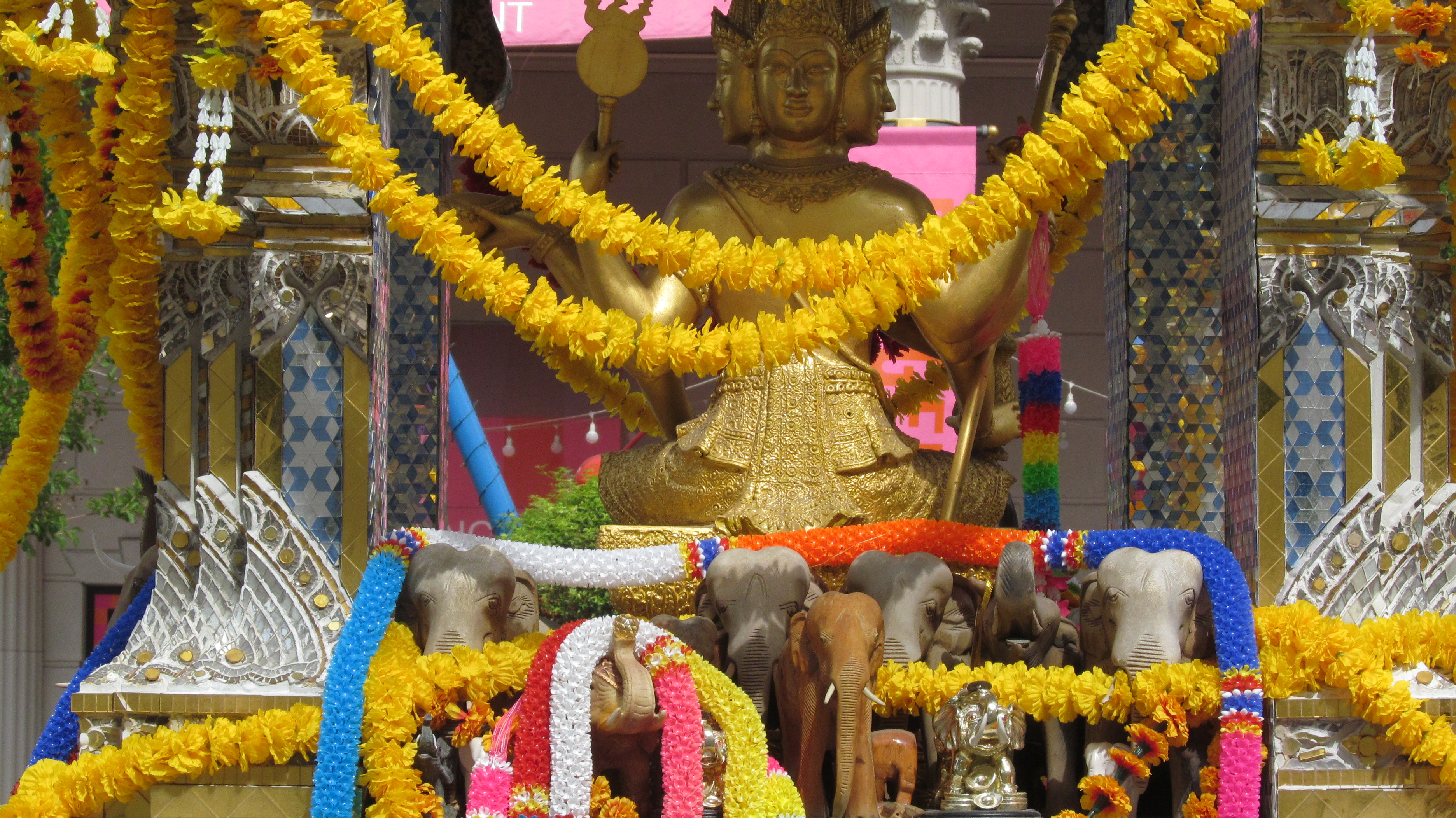 Lord Brahma's Temple In The City Of Sins Las Vegas